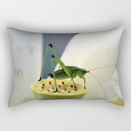 Katydid Rectangular Pillow