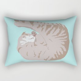 Buff Tiger Rectangular Pillow