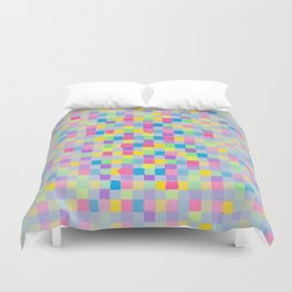 JCrafthouse  The Painted Block Basketweave  Duvet Cover