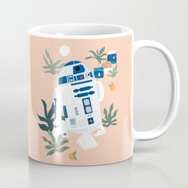"""Keep Calm and Droid On"" by Maggie Stephenson Coffee Mug"