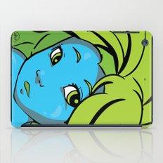 mermaid me happy iPad Case