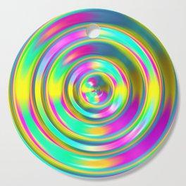 Pastel Swirl Cutting Board