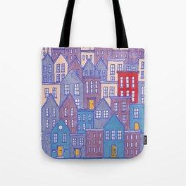 Pretty City II Tote Bag