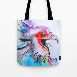 Chicken Face Tote Bag