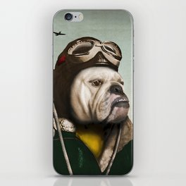 "Wing Commander, Benton ""Bulldog"" Bailey of the RAF iPhone Skin"
