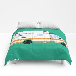 Cute Ambulance Comforters