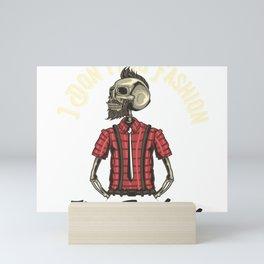 Fashion Skull Mini Art Print
