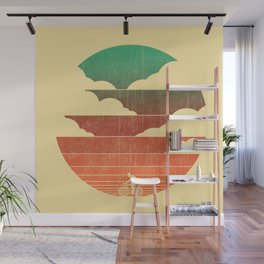 Go West (cycling edition) Wall Mural