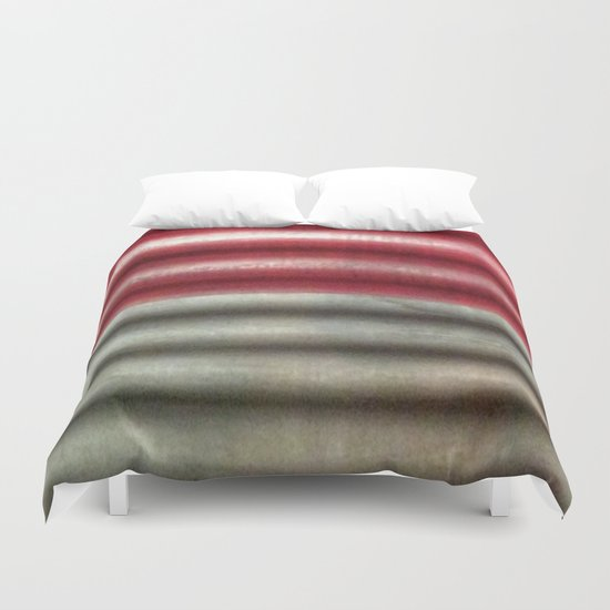 🔵 Industrial Wall Duvet Cover