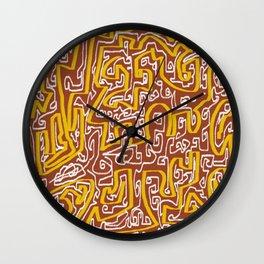 Laberinto 7 Wall Clock