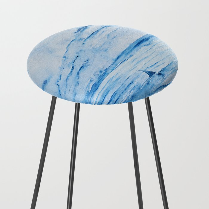 Full Moon Over Shallow Water Counter Stool By Kissart