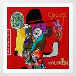 COLORISM/COLORIST Art Print