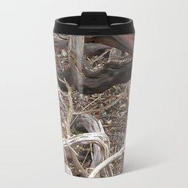 TEXTURES - Manzanita in Drought Conditions #3 Travel Mug