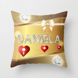 Daniela 01 Throw Pillow