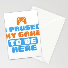 Gamer Game Break Gambling Fun Gift Shirt Stationery Cards