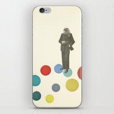 Bird Man iPhone & iPod Skin