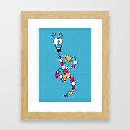 Mr. DNA 1 Framed Art Print