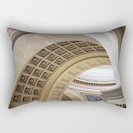 Wisconsin Capitol Building Arches And Angles Rectangular Pillow