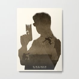 Kingsman: The Secret Service Metal Print