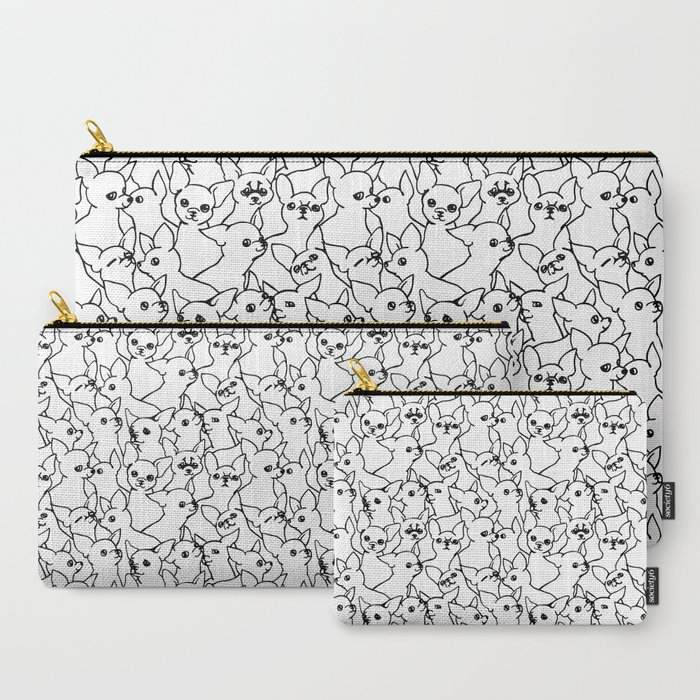 Oh_Chihuahua_CarryAll_Pouch_by_Huebucket__Set_of_3