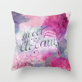 Sweet Dreams I Throw Pillow