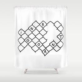 Toca Reja 1/3 Shower Curtain