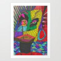 Boatman Art Print