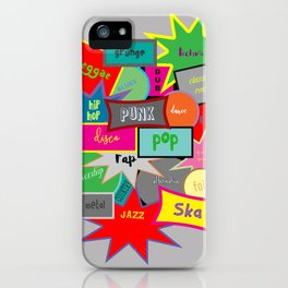 What Are You Listening To? iPhone Case