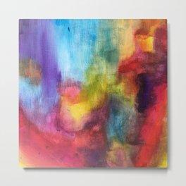 Colorful Sight Metal Print