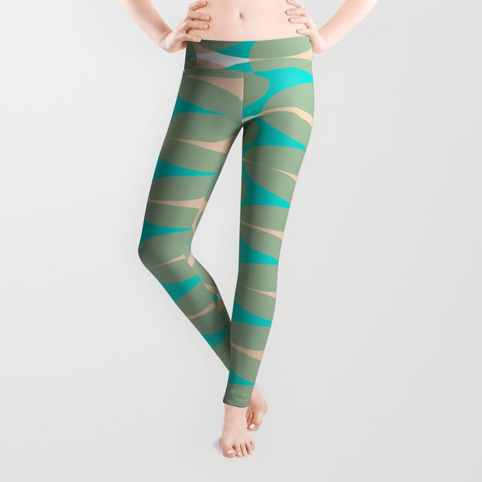Soft pattern Leggings