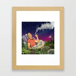 Relaxing Time Framed Art Print