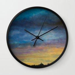 Skymningstiden Wall Clock