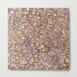 Ancient Andalucian Wall Metal Print