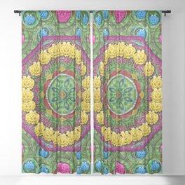 Bohemian chic in fantasy style Sheer Curtain