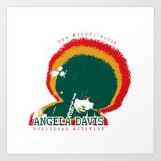 Angela Davis Art Print