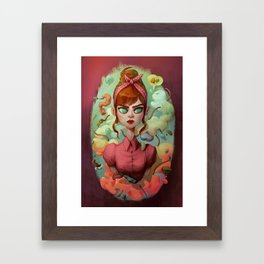 The Splashy Compo Framed Art Print