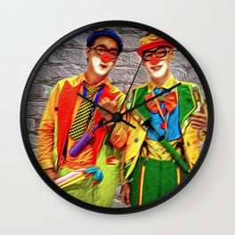 Clowning About. Wall Clock