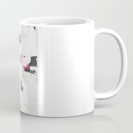 "No. 30 - Print of Original Acrylic Painting on canvas - 16"" x 20"" - (White and multi-color) Coffee Mug"