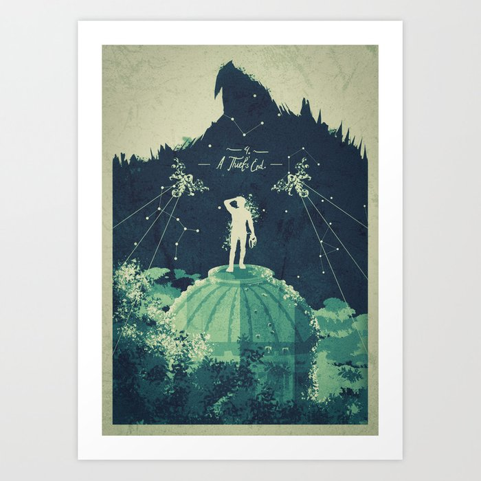 A Man of Fortune Art Print