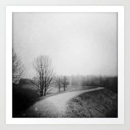 Landscape stories_Path Art Print