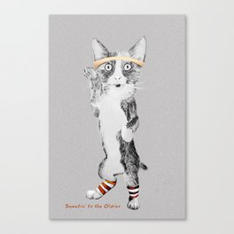 Sweatin' to the Oldies Canvas Print