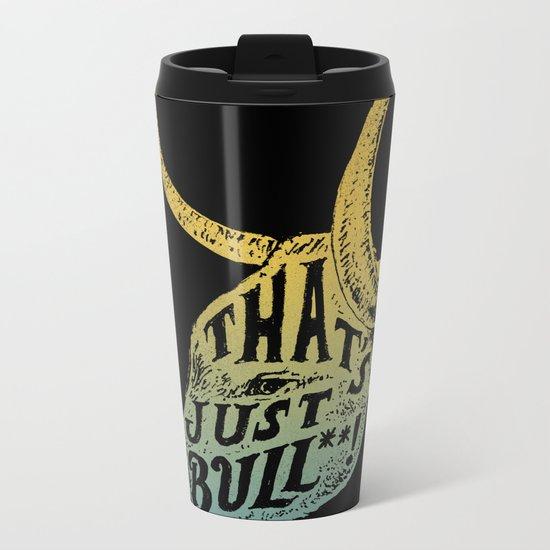 Just Bull Metal Travel Mug