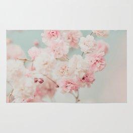 Gypsophila pink blush ll Rug