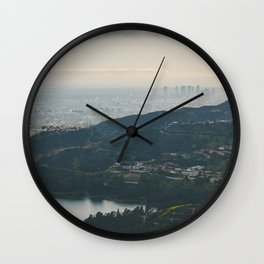 Hollywood Reservoir Wall Clock