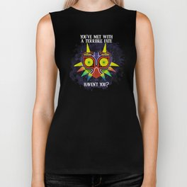 Majora's Mask Splatter (Quote) Biker Tank