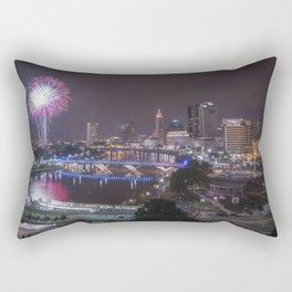 July 4th, Downtown, Columbus, Ohio, 2014 Rectangular Pillow