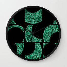 Emerald Solstice Wall Clock