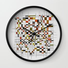 Abstract Composition 447 Wall Clock