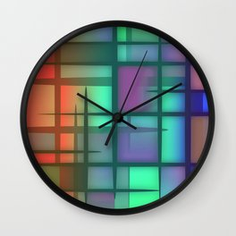 Abstract Design 6 Wall Clock