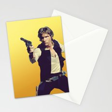Going Somewhere Solo? - Low Poly Han Stationery Cards